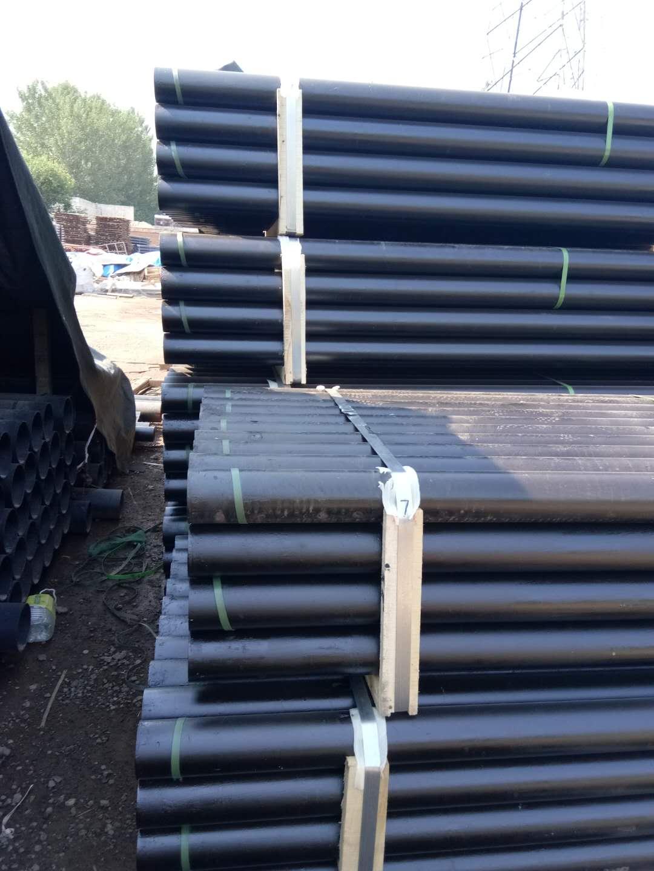 排水柔性铸铁管 天津A型法兰胶圈连接铸铁管