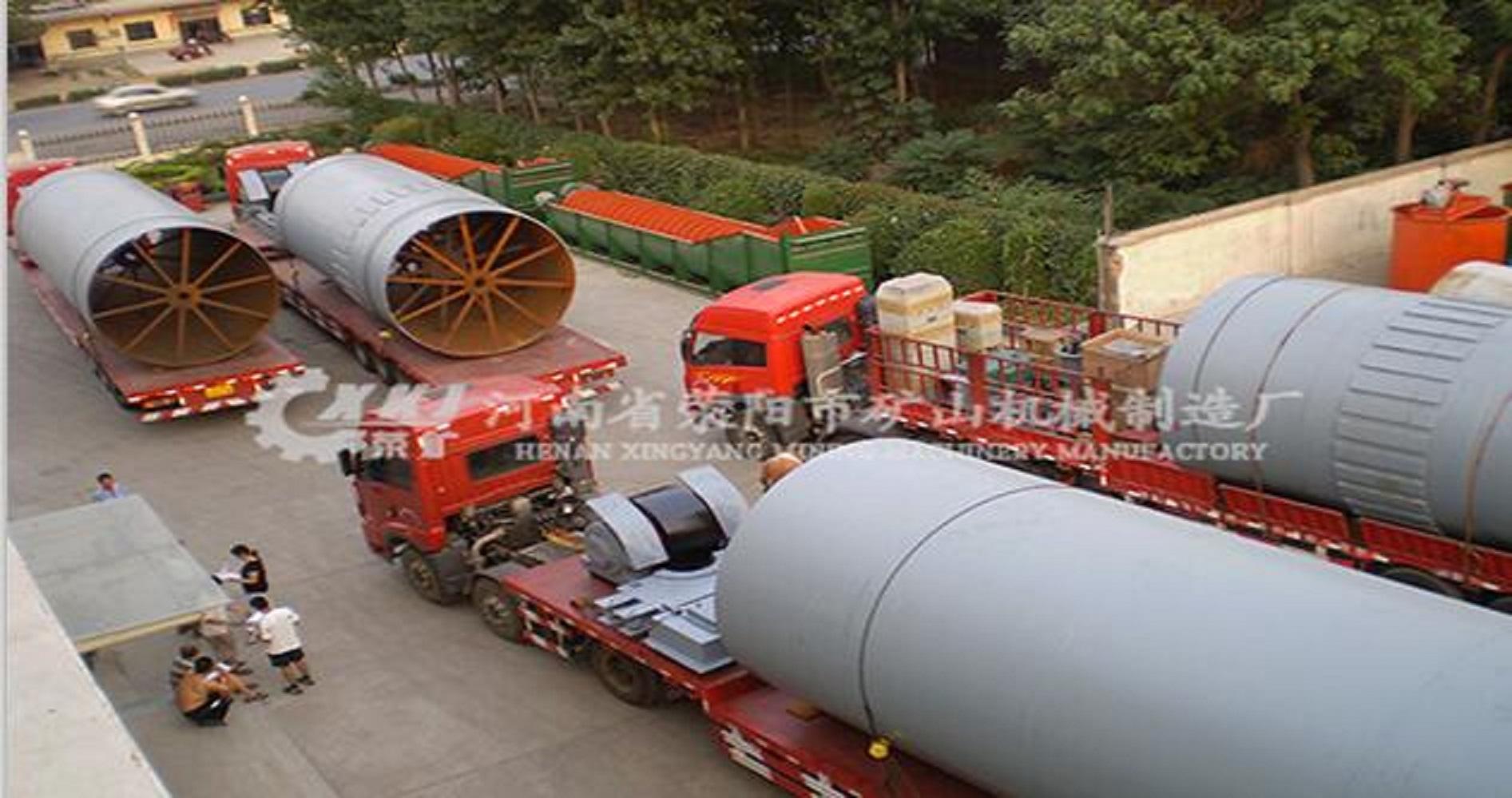每天處理450噸土壤修復回轉窯怎樣處理污染土壤