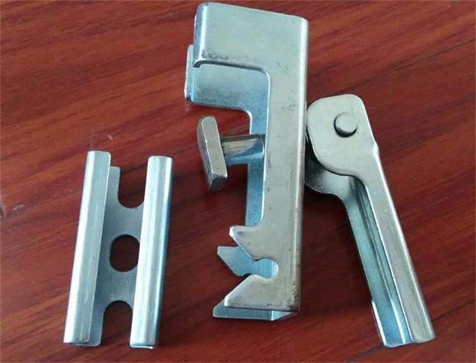 挡条皮胶角铝夹持器 导料槽防溢裙板压紧装置夹持器