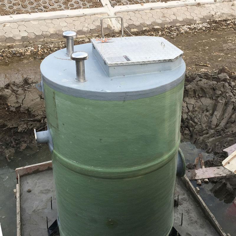 市政工程用一体化预制泵站、一体化污水提升泵站