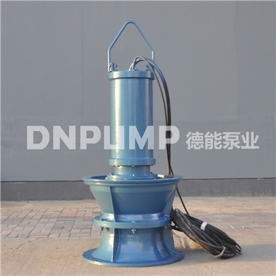1000QZB井筒落地式安装潜水轴流泵
