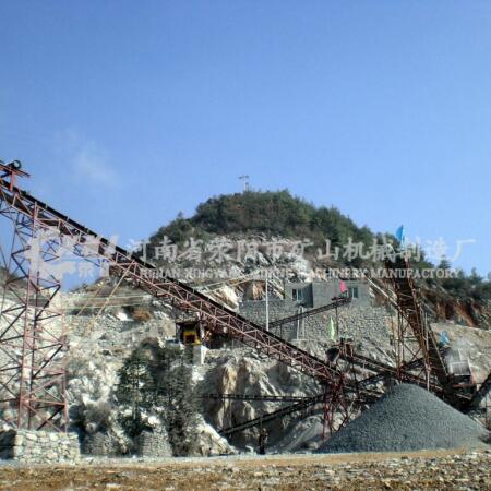 鄭州時產30噸砂石生產線性能介紹