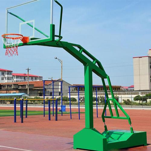 南寧仿液壓移動籃球架尺寸多少-籃球架國家標準尺寸