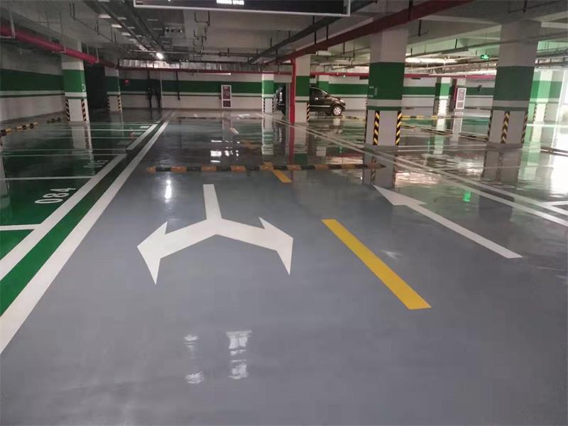 北京环氧树脂薄涂地坪环氧自流平停车设备智能道闸