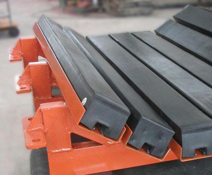 煤礦緩沖床500mm 阻燃煤礦緩沖床 煤礦井下緩沖床 弧形設計更為巧妙