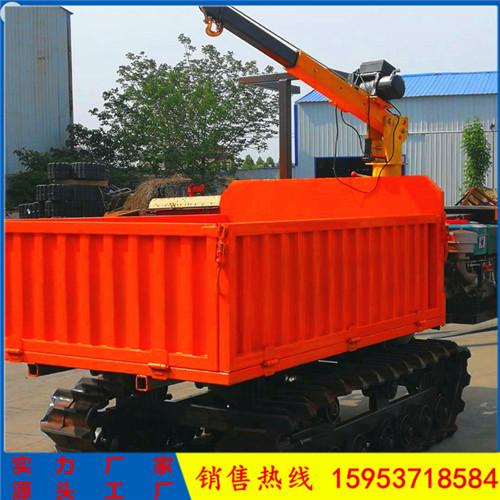 全地形履带运输车 自走式履带运输车 多功能小型履带式运输车