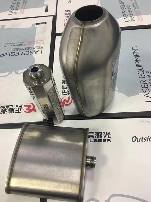 東莞市正信不銹鋼酒壺激光焊接機