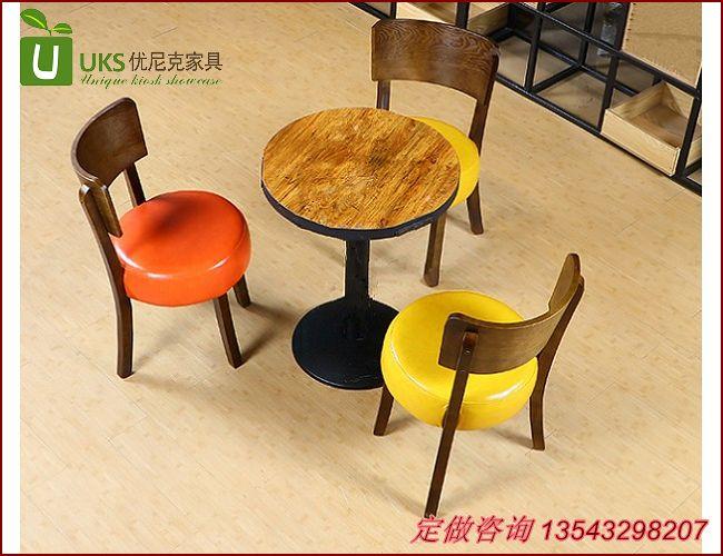 定做茶餐厅桌椅 快餐桌椅厂家直销!
