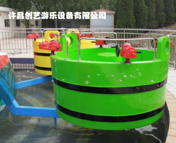 公园上座率高的游乐设备 水上转转桶 儿童游乐设备厂家