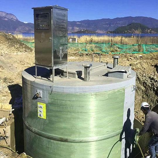 泽尼特一体化泵站 玻璃钢一体化泵站 厂家直销