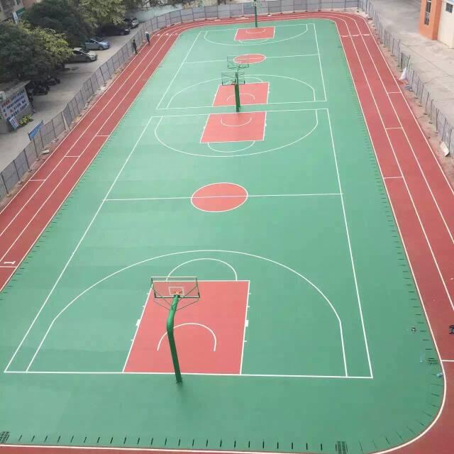 广西篮球场翻新施工方案