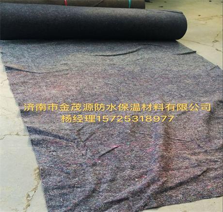 山东济南养护毛毡厂家直销优质拉力大公路养护保湿毛毡