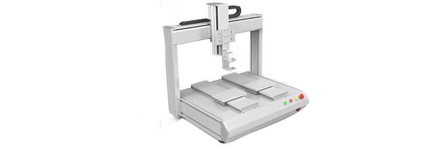 表面处理波音软片贴膜粘胶时点胶设备派上用场