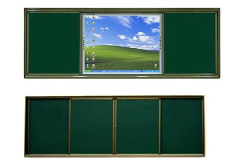河南推拉黑板推拉式滑动绿板招投标参数