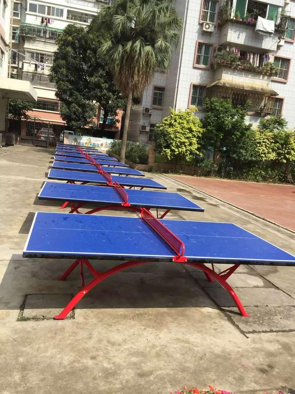 賀州室外乒乓球桌 室內乒乓球臺 折疊式乒乓球桌