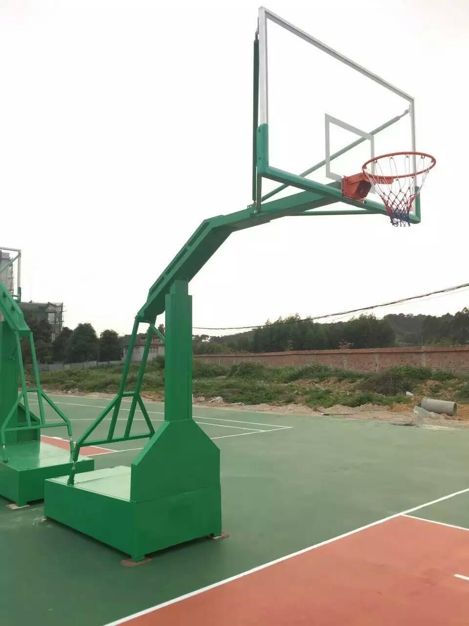 南寧籃球架生產商 廠家直供 免費送貨上門安裝