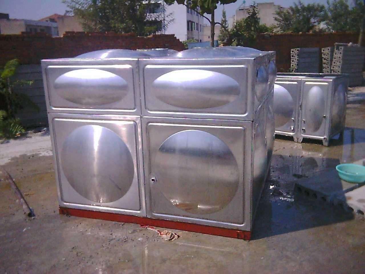 玻璃钢溢水水箱 高位消防水箱厂家 水箱