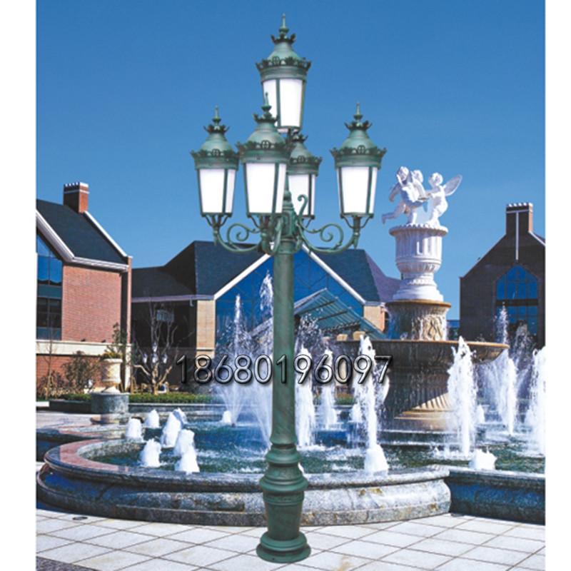 亚克力防水景观灯欧式复古庭院灯多头防水室外灯