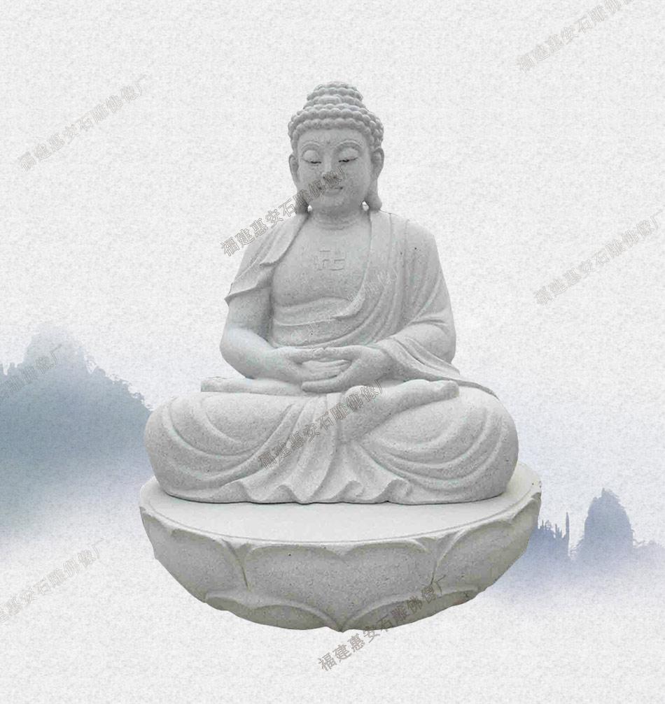 大庆古代佛像 石雕鉴定镇江石雕佛像 清代民国石雕弥勒佛