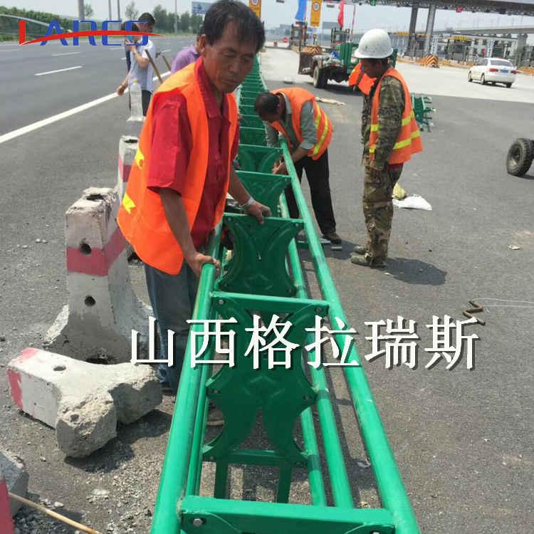 a级高速预应力活动护栏 折叠式活动护栏
