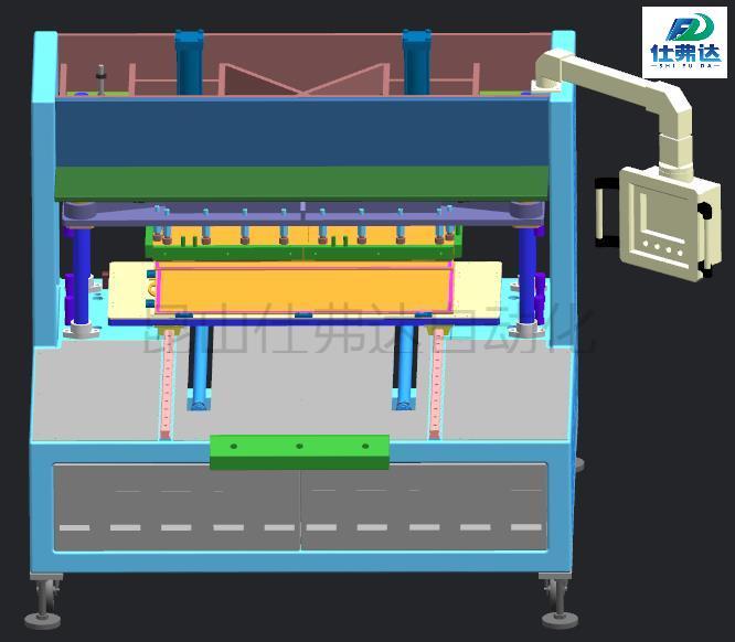 0.8平方MBR平板膜焊接机、MBR平板膜焊接设备