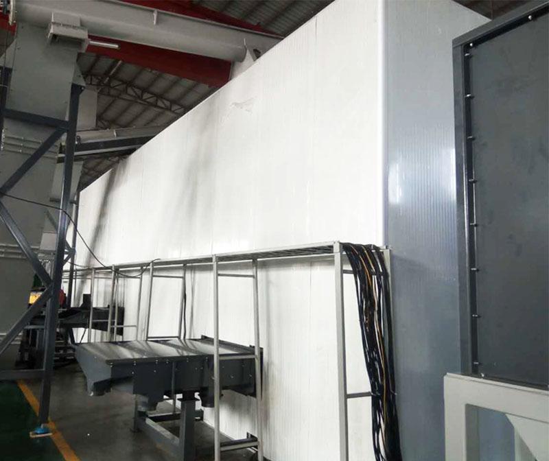 沖床機器噪聲治理,隔聲罩降噪結構安裝建造
