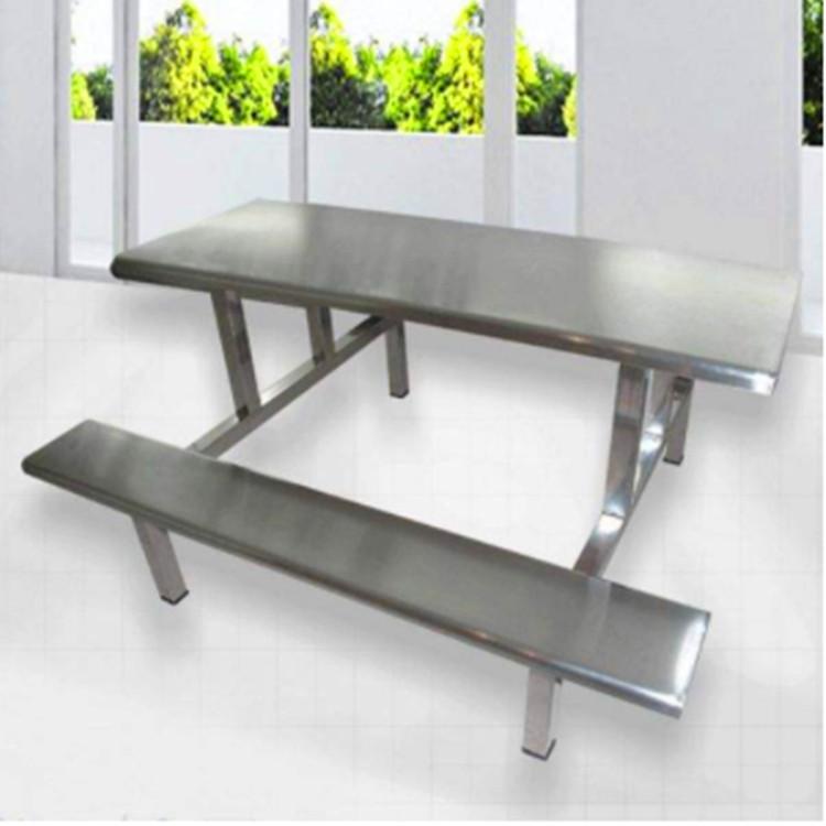 不銹鋼8人餐桌椅 東莞康勝餐桌廠家 不銹鋼八人餐桌椅