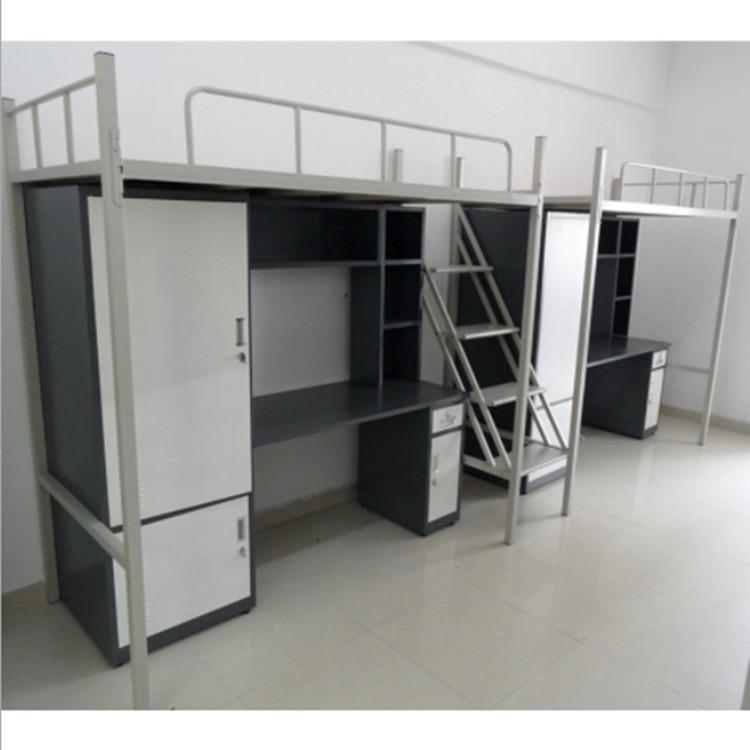 學生組合公寓床 東莞康勝鐵床廠家 學生宿舍組合床