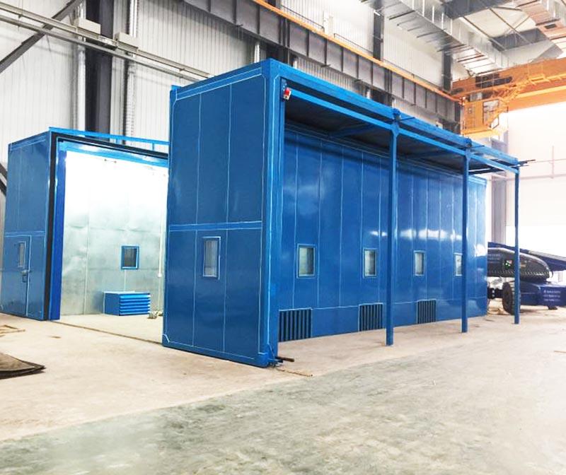 工業隔音房應用情況,隔音房降低機器運轉噪聲方法
