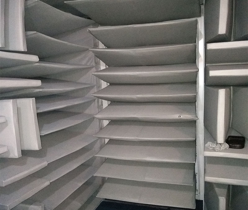 噪聲消聲室混響測試空間結構設計分析了解