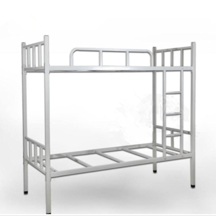 上下鋪鐵架床批發 上下鋪鐵床廠家 宿舍上下鋪床供應