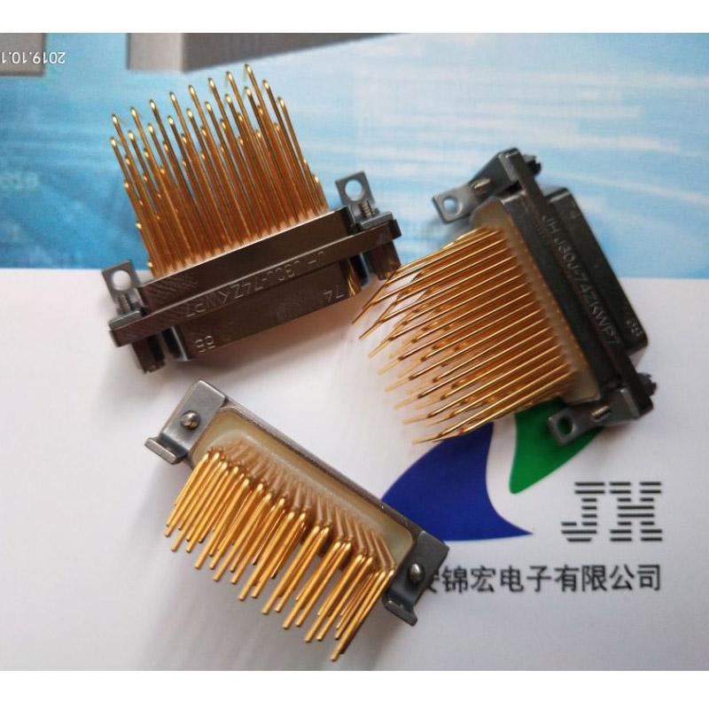 1.27*2.54網格間距J30J-74TJNP5-J直插矩形連接器