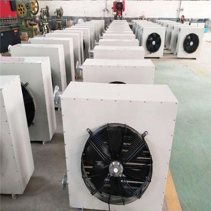 工业蒸汽型暖风机 低噪音镀锌板暖风机4NT暖风机