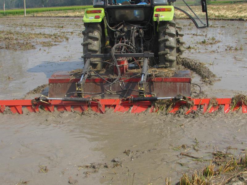 一马牌农业水田平整自动水平平田耙