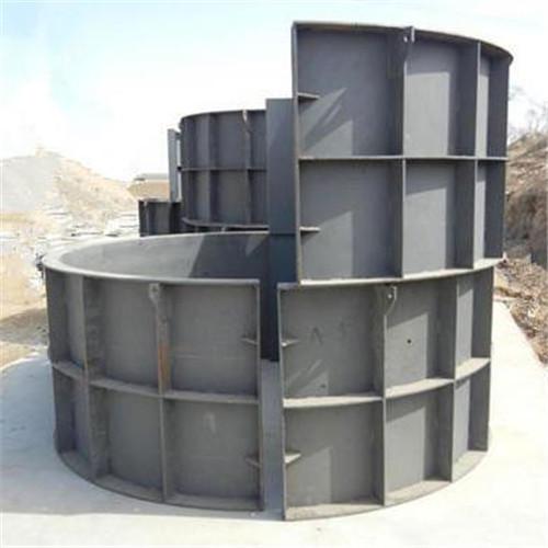圓形化糞池模具-原鄉化糞池鋼模具