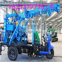 三輪車載液壓鉆機,廠家直銷液壓水井鉆機,操作簡便的打井機
