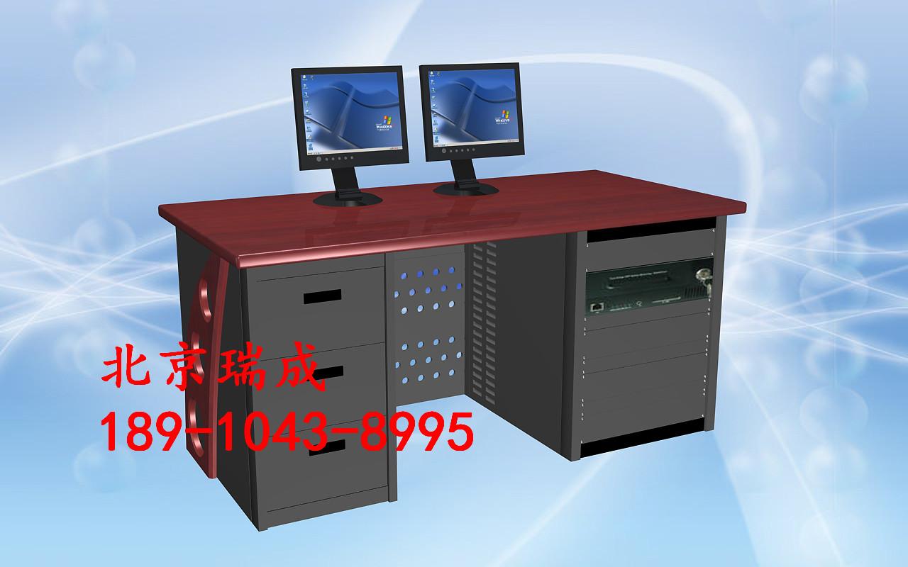 非编非线性编辑台广播播音电视台编辑台操作台控制台电脑桌