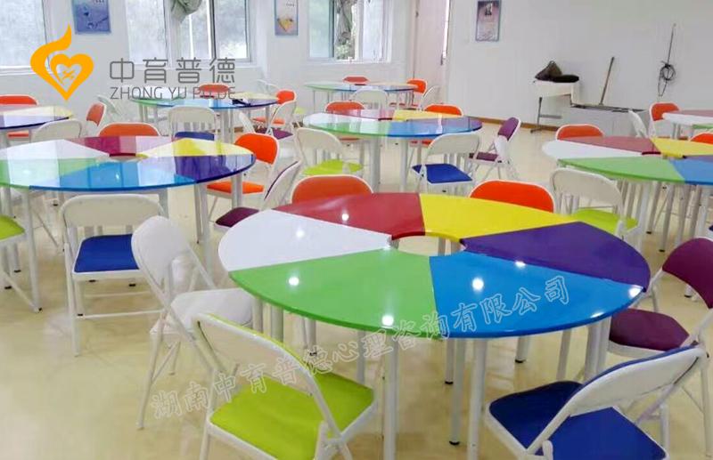 内蒙团体活动桌椅8色系列