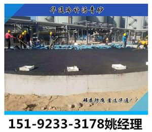 江西南昌沥青砂垫层保护罐底底板不受腐蚀