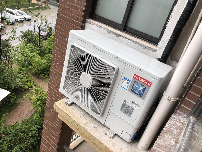 無錫日立中央空調140外機圖片