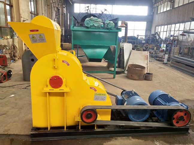 双极高湿物料粉碎机 有机肥双极粉碎机