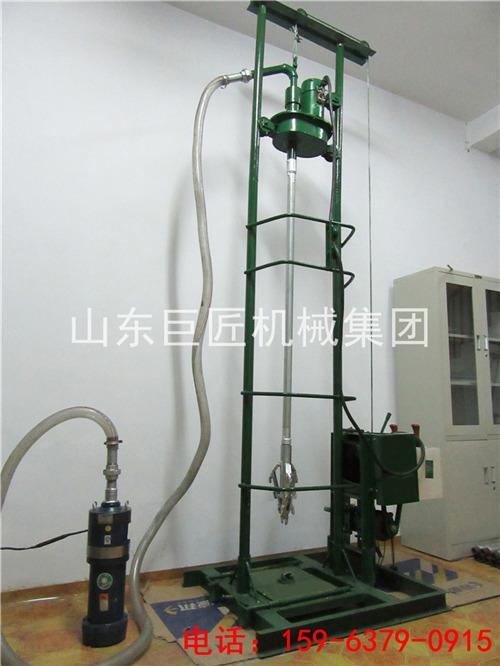 吃水小型钻井机 220V手持式农用打井设备