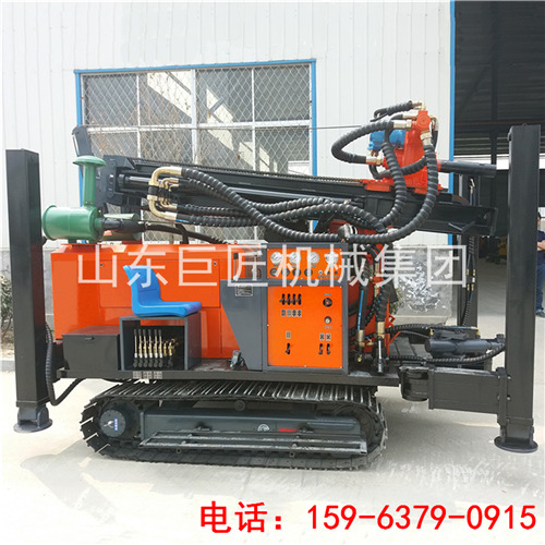 FY260履带式气动水井钻机