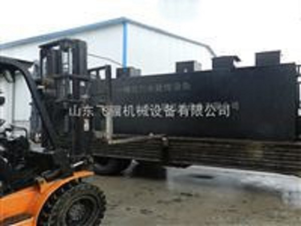 武清区地埋式一体化污水处理设备