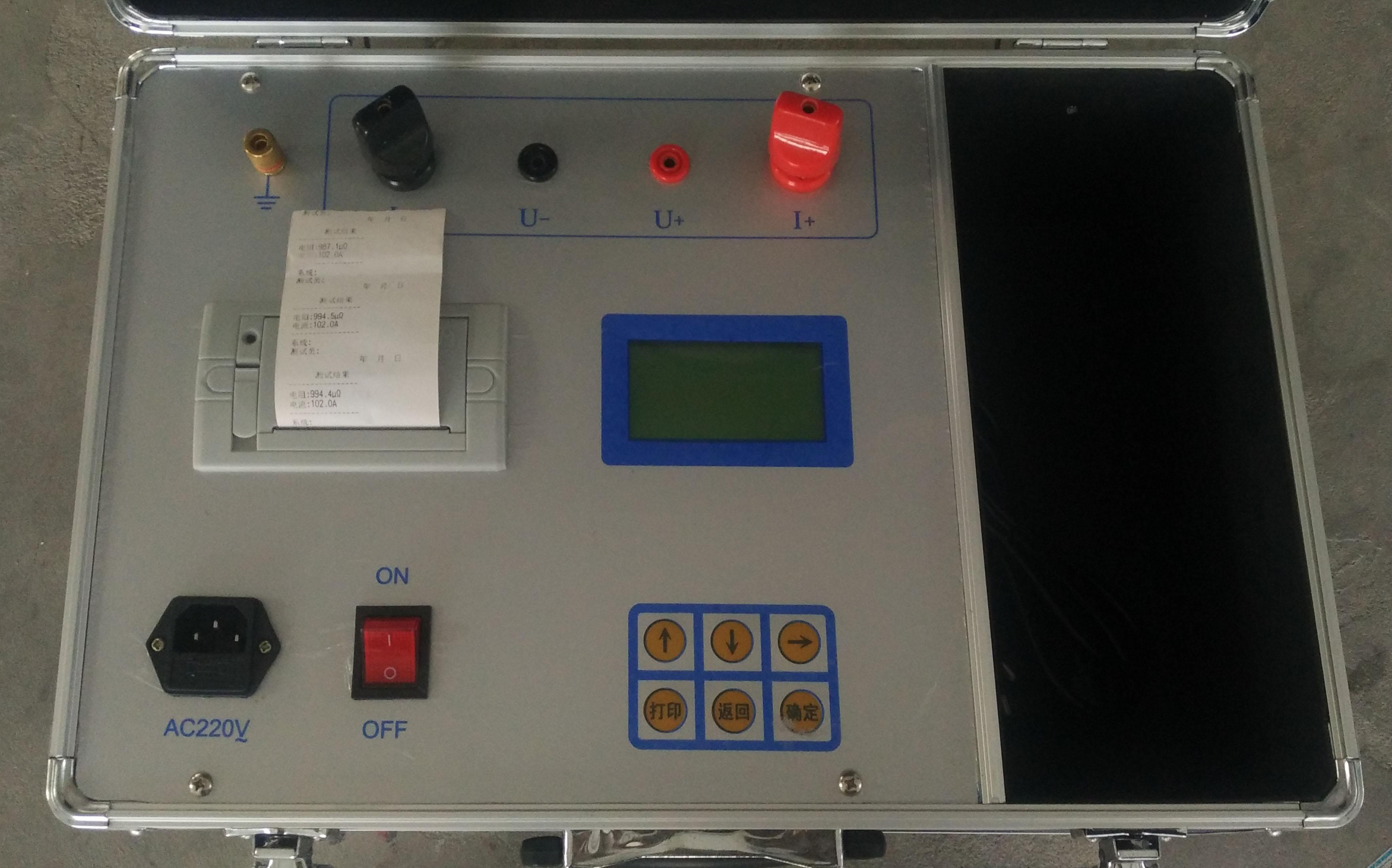 电力资质二级承装承修回路电阻测试仪DC:≥100A可租赁出售