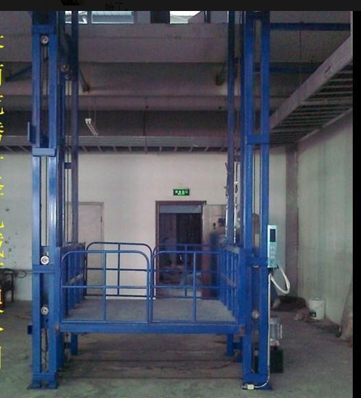安徽导轨式升降机,升降货梯,厂房楼层运货升降台