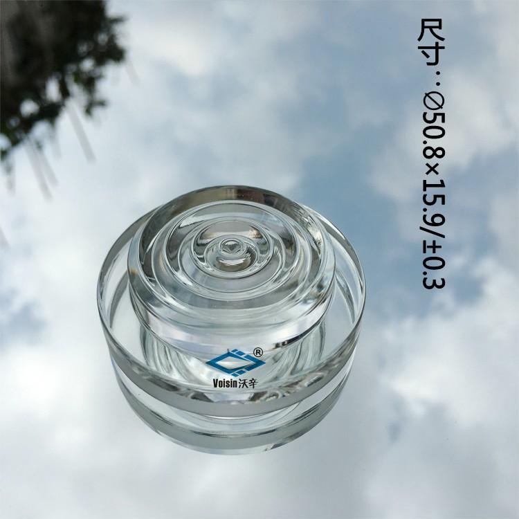 菲涅尔螺纹镜 异形硼硅玻璃透镜