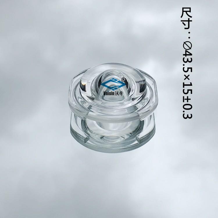 非常灯玻璃透镜 异形LED玻璃透镜
