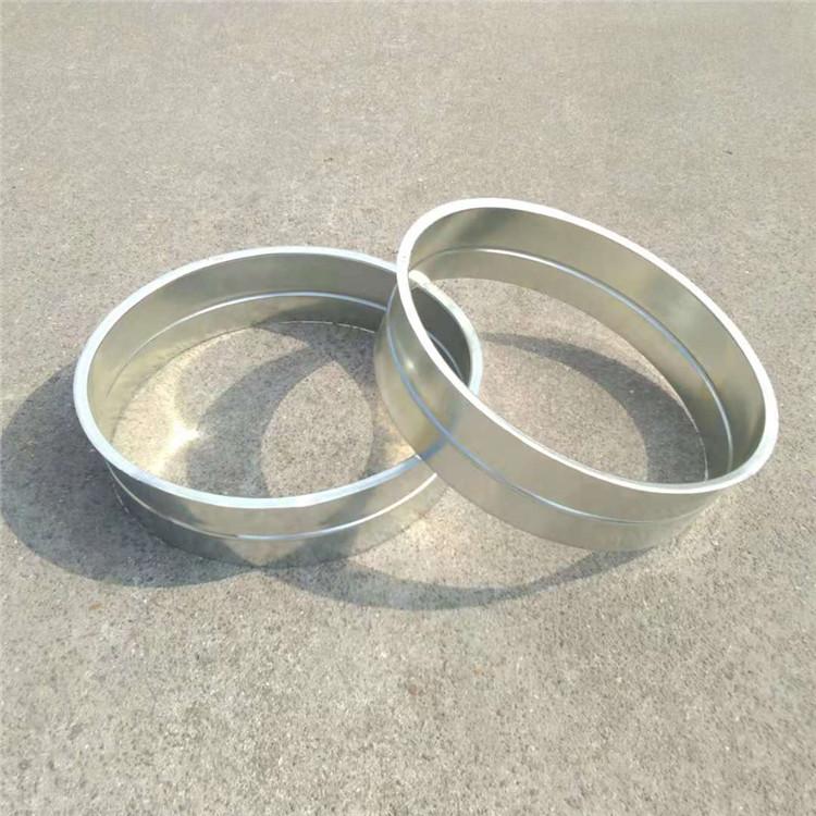 惠州环保风管圆形镀锌板风管厂专业白铁风管配件内接