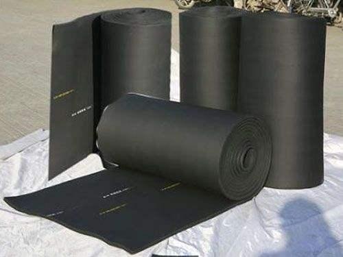 批发难燃橡塑板贴铝箔空调橡塑板 复合橡塑防火防水橡塑板厂家价格